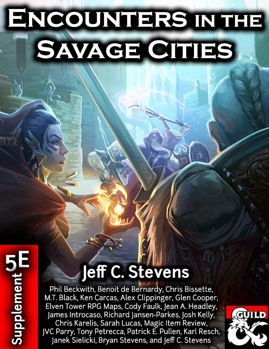 Cover of Encounters in the Savage Cities