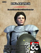 ART060 Female Human Cleric (Helm)