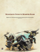Monstrous Guide to Monster Roles