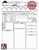 D&D 5e Player Character sheet