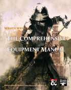 [PREVIEW] The Comprehensive Equipment Manual