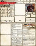 5e Compact Character Sheet