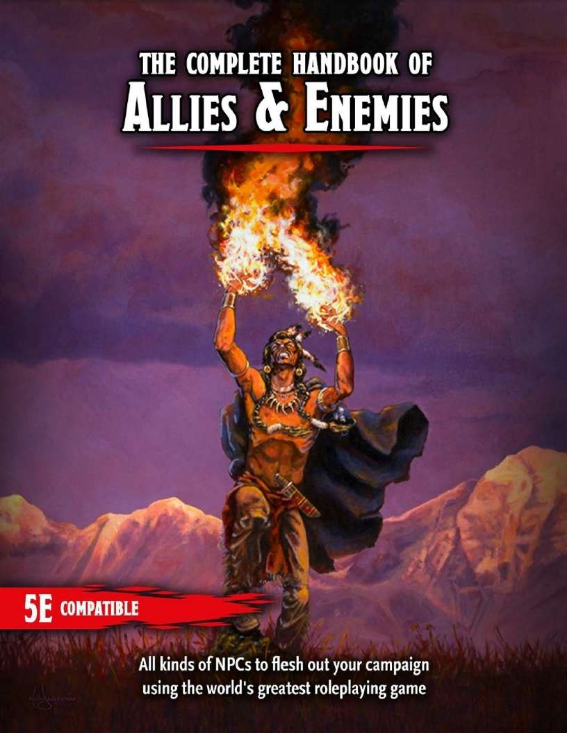 Complete Handbook of Allies and Enemies - Dungeon Masters