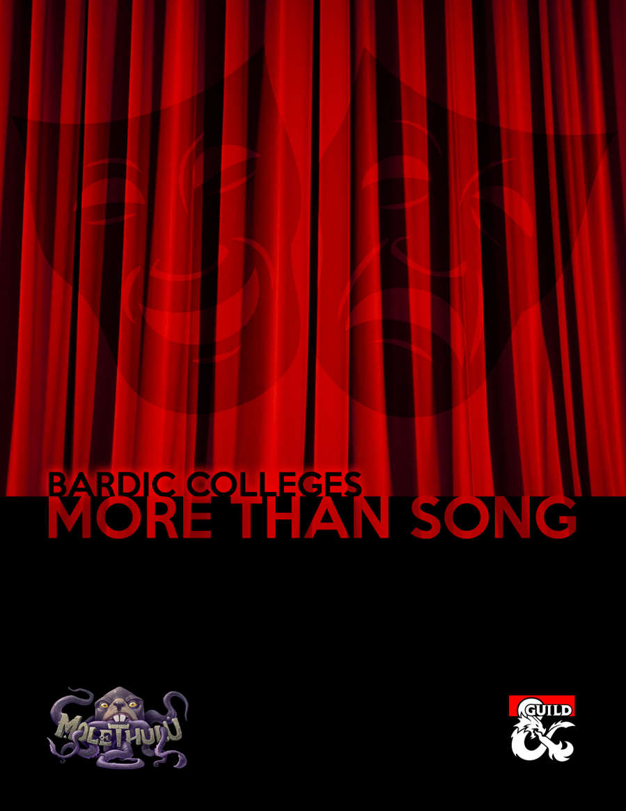 More than Song: Bardic Colleges - Dungeon Masters Guild