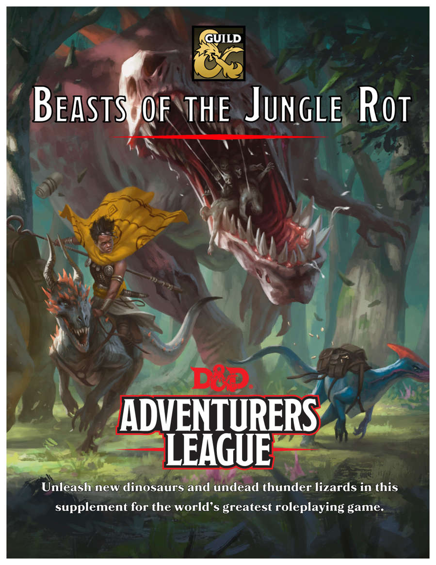 Beasts Of The Jungle Rot Dungeon Masters Guild Dungeon Masters Guild