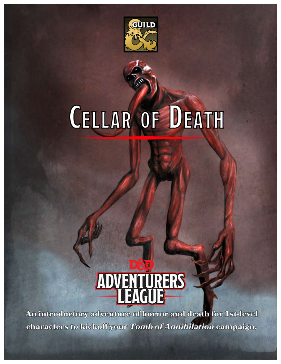 Cover of Cellar of Death