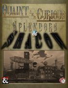Splendors & Shadow - Waterdeep Steampunk Campaign Setting (5e)