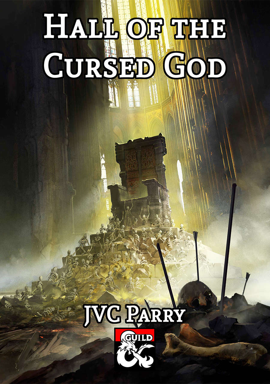 Cover of Hall of the Cursed God