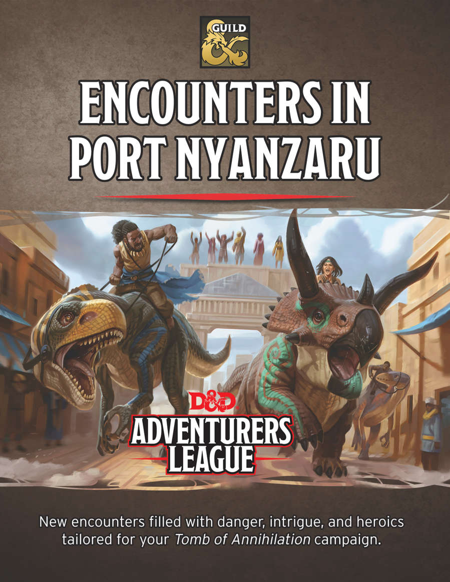 Encounters In Port Nyanzaru Dungeon Masters Guild