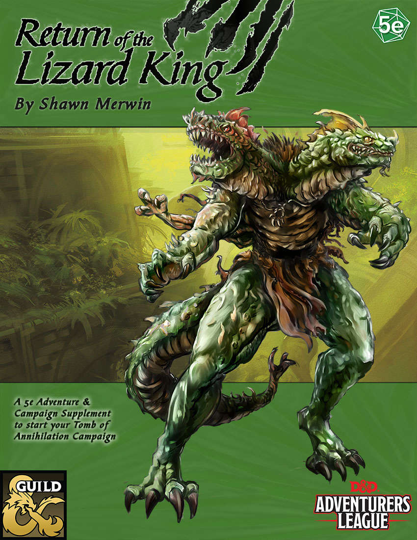 Return Of The Lizard King Dungeon Masters Guild