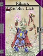 99 Cent Adventures - Villainous Villain - Rikrak Goblin Lich