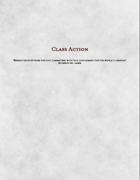 Class Action: Subclass Compendium