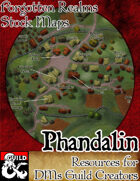 Phandalin - Forgotten Realms Stock Maps
