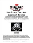 CCC-QCC2017 Delusions of Grandeur, Dreams of Revenge