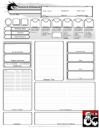 Dyslexia-Assistive Character Sheet