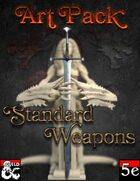 Art - Standard Weapons
