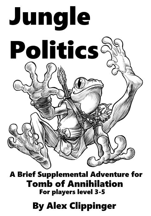 Cover of Jungle Politics