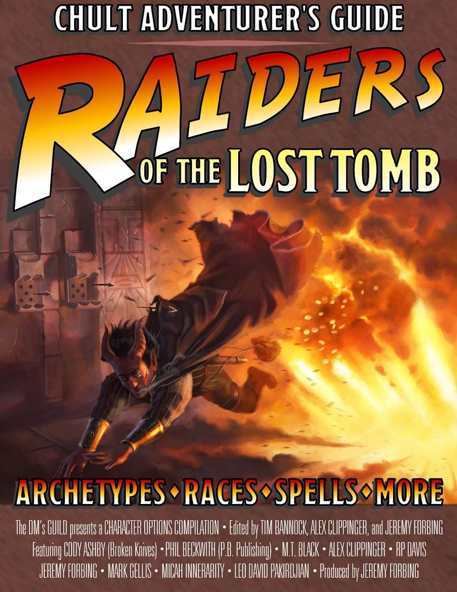 Raiders of the Lost Tomb: Chult Adventurer's Guide - Dungeon Masters Guild  | Wargame Vault