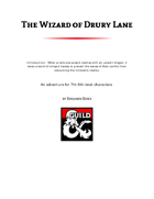 The Wizard of Drury Lane