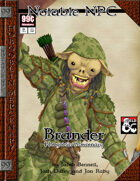 99 Cent Adventures - Notable NPC - Brander, Hobgoblin Mercenary