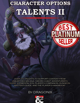 Character Options: Talents II (5E)