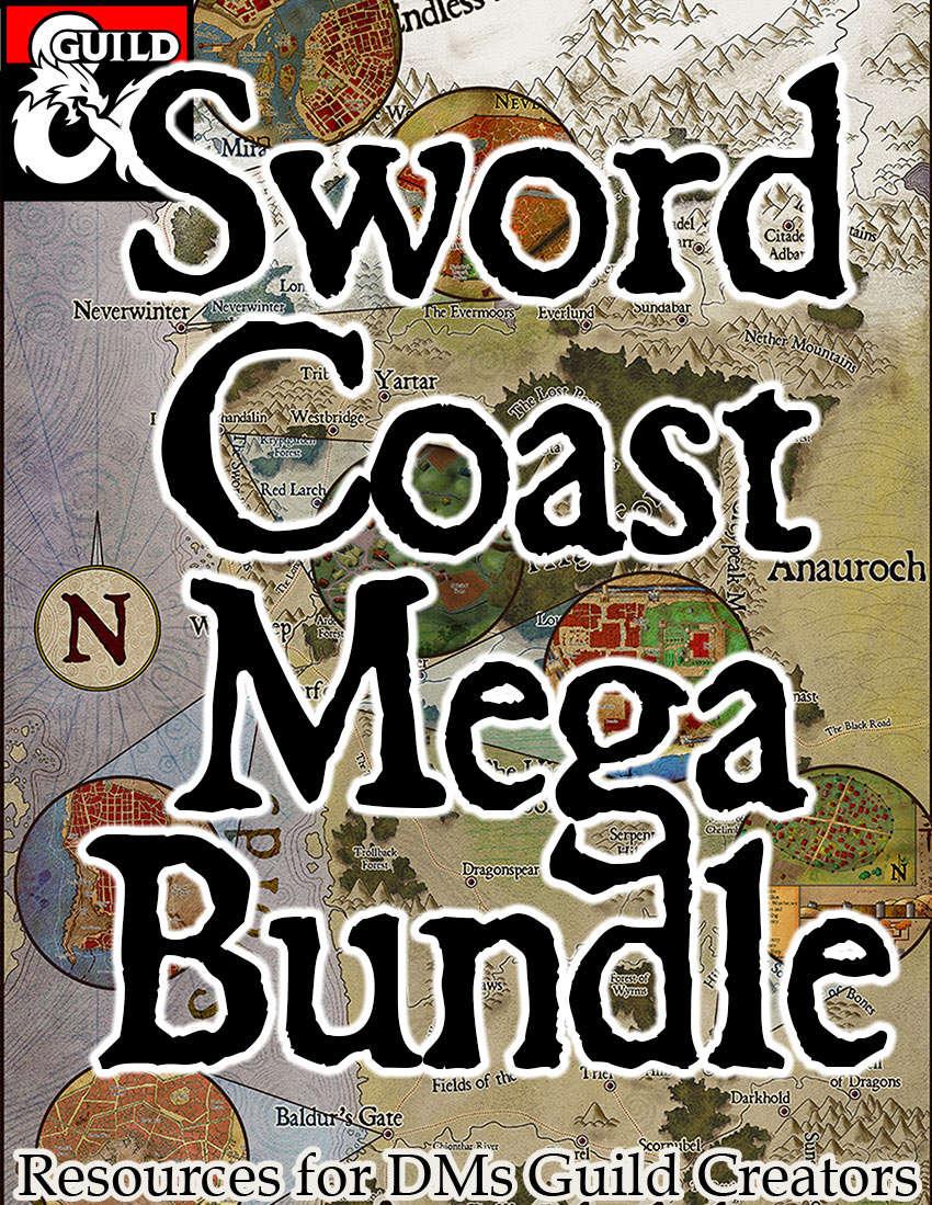 Sword Coast Mega Bundle - Dungeon Masters Guild | Dungeon Masters Guild