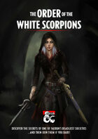 The White Scorpions Assassins Guild