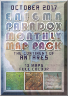Enigma Paradox Monthly Map Pack: Continent of Antares (Scenario Booklet)