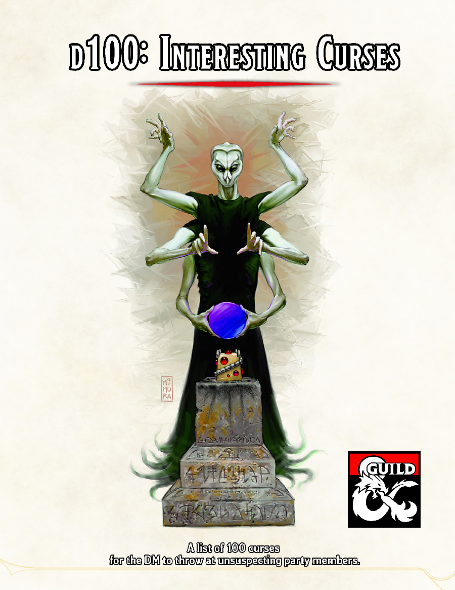 100 Interesting Curses - Dungeon Masters Guild   Dungeon Masters Guild