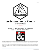 RPG005 An Infestation of Xvarts