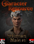 Character Resource - Human Male #1