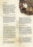 Fauns - A Fifth Edition Player Race