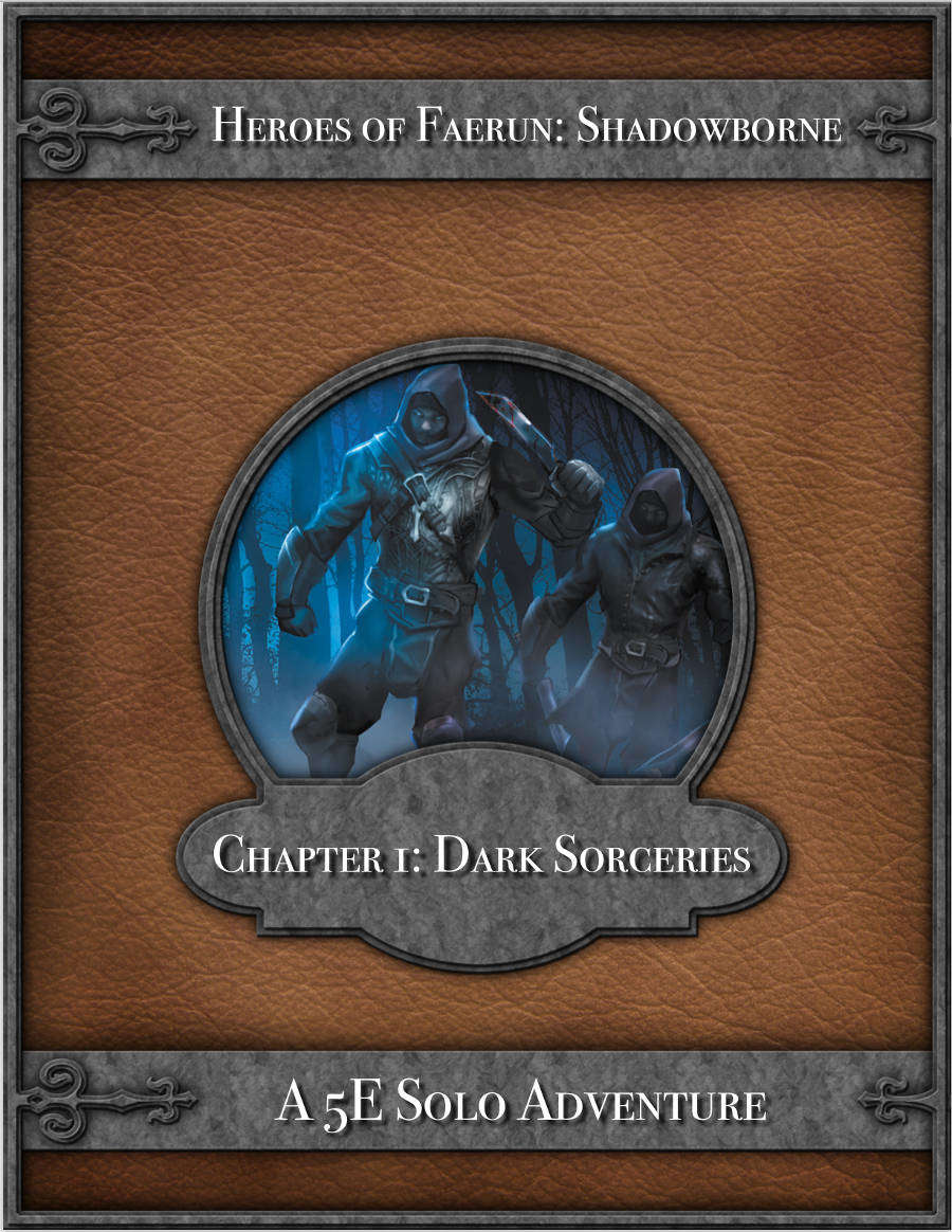 Dark Sorceries - A 5E Solo Adventure - Dungeon Masters Guild