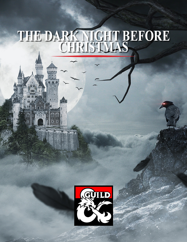 Cover of The Dark Night Before Christmas