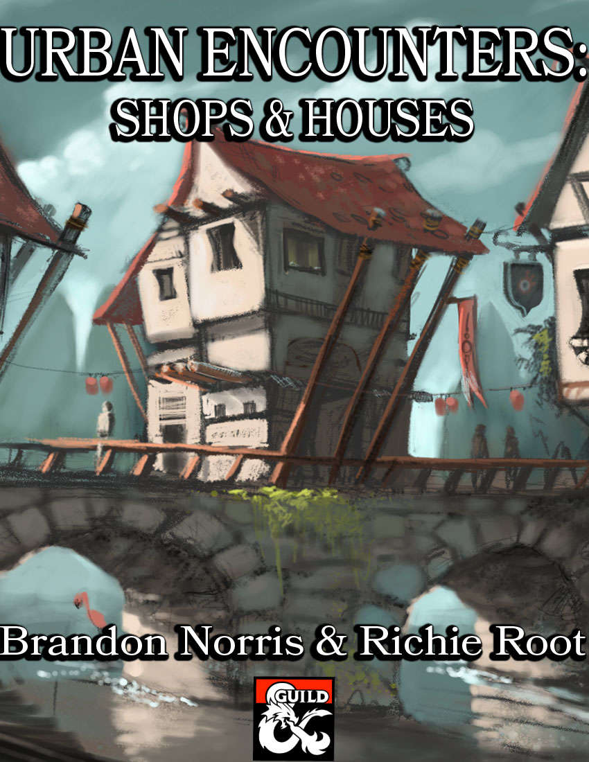 Urban Encounters: Shops & Houses