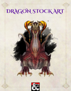 Red Dragon Stock Art