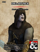 ART950 Male Orc Ranger Stock Art