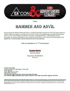 CCC-ODFC01-01 Hammer and Anvil