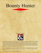 Bounty Hunter Class (D&D 5e)