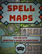 Spell Maps for Xanathar's Guide to Everything