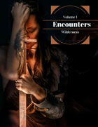 Encounters Vol 1 Wilderness