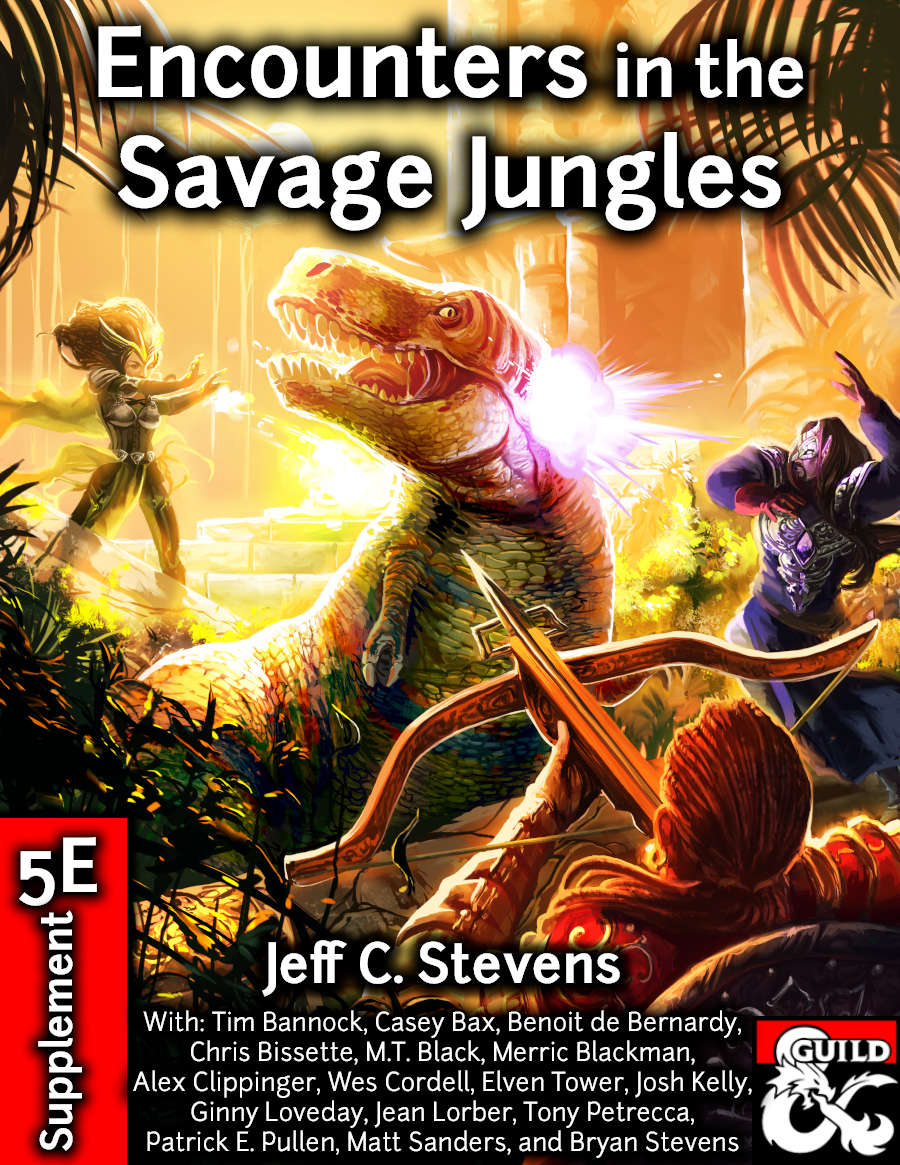 Cover of Encounters in the Savage Jungles
