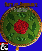 Paladin Archetype: Oath of Abundance