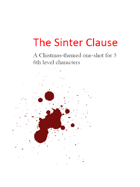 The Sinter Clause, a dark Christmas adventure