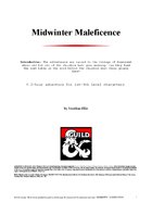 Midwinter Maleficence