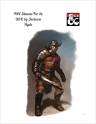 NPC Classes For 5e D&D