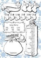Festive Character Sheets