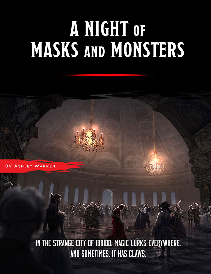 A Night of Masks and Monsters (A Requiem of Wings #1