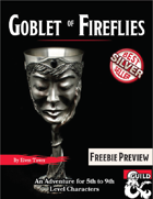 The Goblet of Fireflies - Freebie