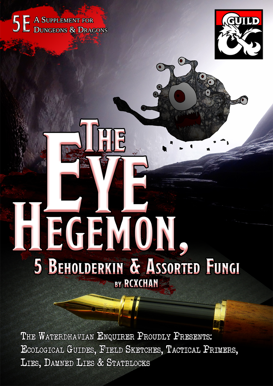 Beholder, Beholderkin & Fungi Supplement (5e)